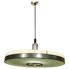 May Company Streamline Aluminum Pendant Ceiling Lamp