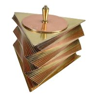Otar Stacked Brass and Copper Box