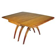 Heywood Wakefield Butterfly Drop Leaf Wishbone Dining Table