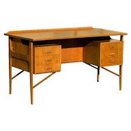 Danish Teak Desk in the style of Kai Kristiansen