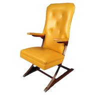 McKay Cantilever Rocker in Harvest Gold