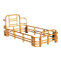 Single Sized Bent Rattan Bed Frame