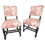 Pair of 18th Century Chairs