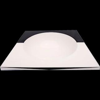 Ceramic Dish by Ettore Sottass