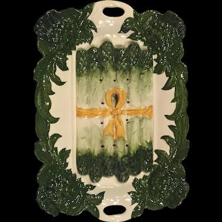 Ceramic Asparagus Dish