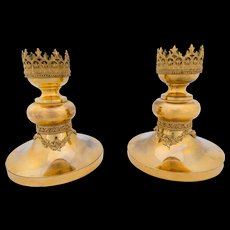 Pair of Ecclesiastical Candle Stands