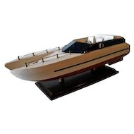 CATAMARAN SPEED BOAT MODEL 1960's