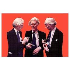 Andy Warhol by Stephen Verona