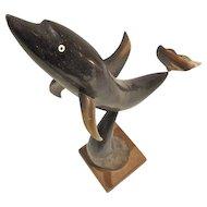 Cuban Dolphin Sculpture