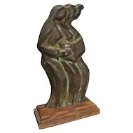 Bronze Sculpture by Peggy Carr