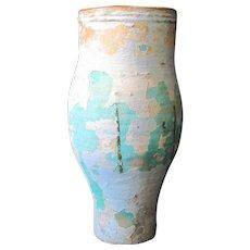 Large Artisan Floor Standing Vase