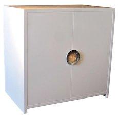 Cabinet in White Lacquer