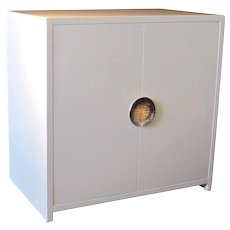 Cabinet in White Lacquer