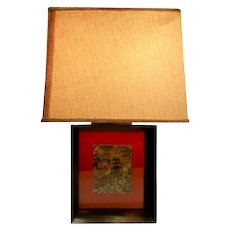 Picture frame lamp