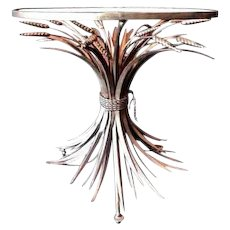 "The ""WHEAT SHEAF"" TABLE~GILT"