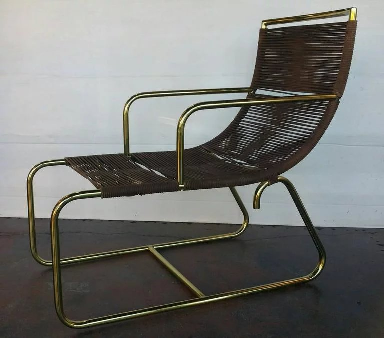 Pair Of Walter Lamb Sleigh Chairs Click To Expand