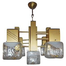 Articulated Mazzega Chandelier