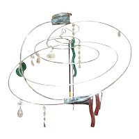 An Artemide Light Fixture Artwork by Toni Cordero Montezemolo