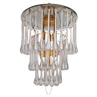 Wonderful Seven-Light Italian Chandelier