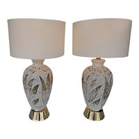 Pair of American Vintage Table Lamps