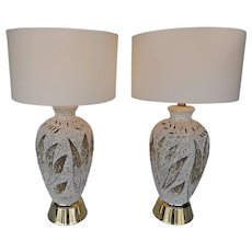 Pair of American Vintage Table Lamps