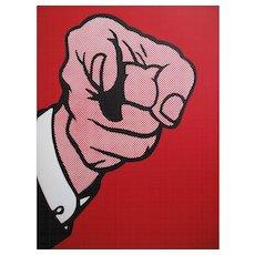Roy Lichtenstein Serigraph