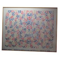 Jasper Johns Offset Lithograph 'Corpse & Mirror'