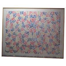 Jasper Johns Offset Lithograph 'Corpse & Mirror'