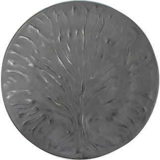 Lalique 'Tree of Life' Black Plates