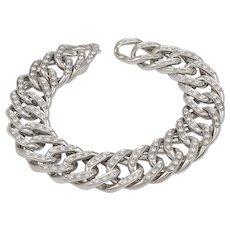 18k Gold Diamond Link Bracelet