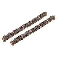 Pair of Bracelets, signed Van Cleef & Arpels