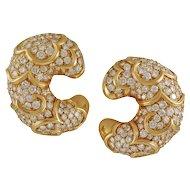 Diamond Earrings by Marina B.