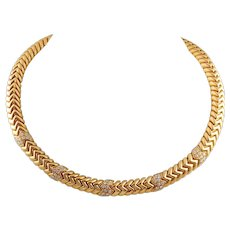 Diamond Necklace by Bulgari