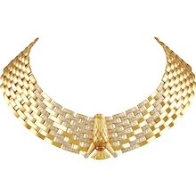 Cartier Diamond Eagle Necklace