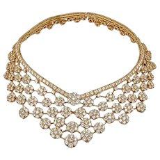 VAN CLEEF & ARPELS Diamond Snowflakes Necklace