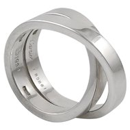 White Gold Wedding Band by Cartier