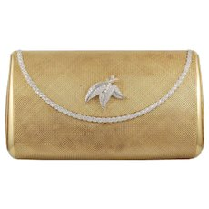 Yellow Gold Diamond Evening Bag