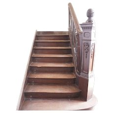Argentine Solid Mahogany Staircase