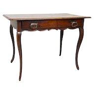 French Louis XV Period Walnut Tea Table
