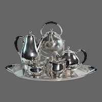 Georg Jensen Cosmos Coffee & Tea Service No. 45