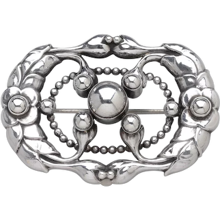 Georg Jensen Brooch No. 76