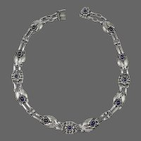 Georg Jensen Necklace No.1 with Spectrolite