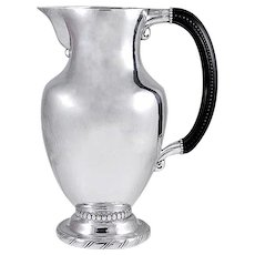 Georg Jensen Pitcher No. 5B with Ebony