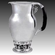 Georg Jensen Pitcher No. 407B with Ebony
