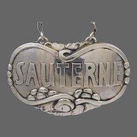 Georg Jensen Sauterne Liquor Label