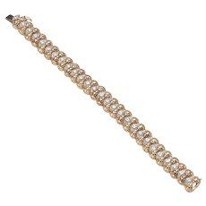 Tiffany & Co. Gold & Diamond Bracelet