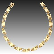 Georg Jensen Gold Necklace No. 275.