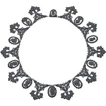Early 19th Century Berlin Iron Necklace