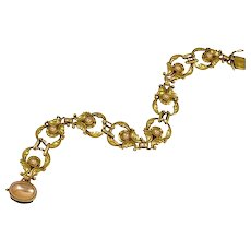 Georg Jensen Gold Bracelet No. 172
