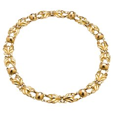 Georg Jensen 18Kt Gold Necklace No. 323